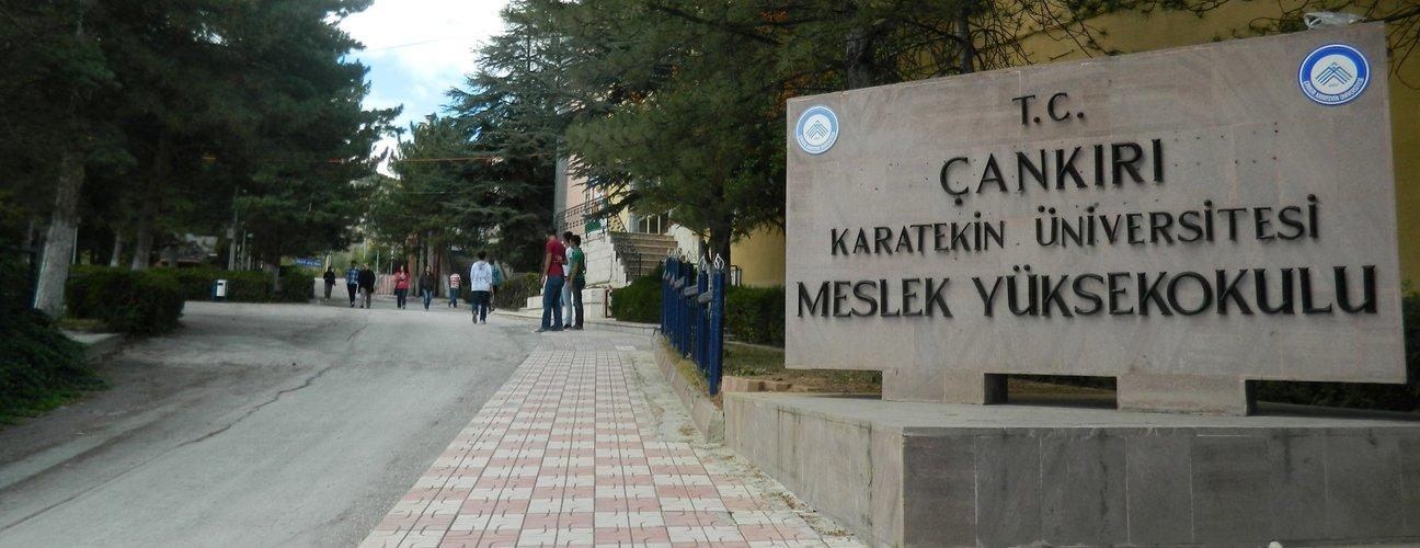 Çankırı Karatekin Üniversitesi giriş