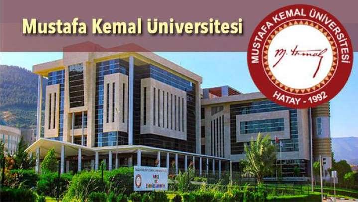 Hatay Mustafa Kemal Üniversitesi görüntü