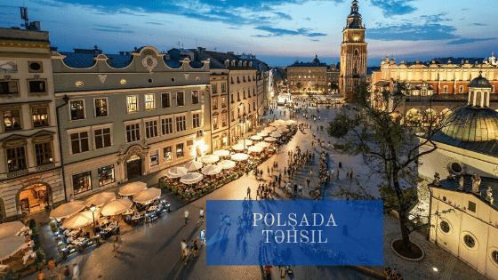 Polşada təqaüdlə təhsil